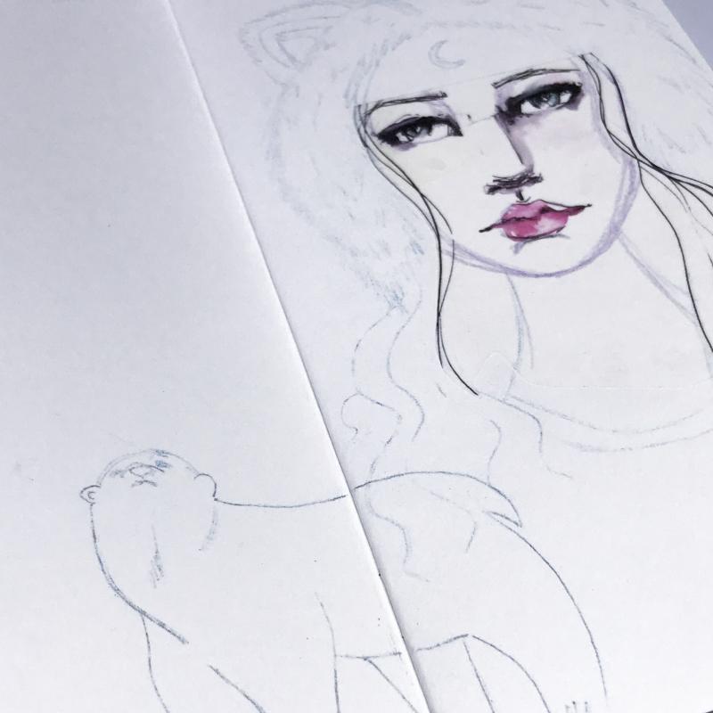 Spellbinders-Kate Palmer-Winter-Spirit-Girl-3