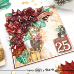 Folded Christmas Card with AB Studio and Lindy's