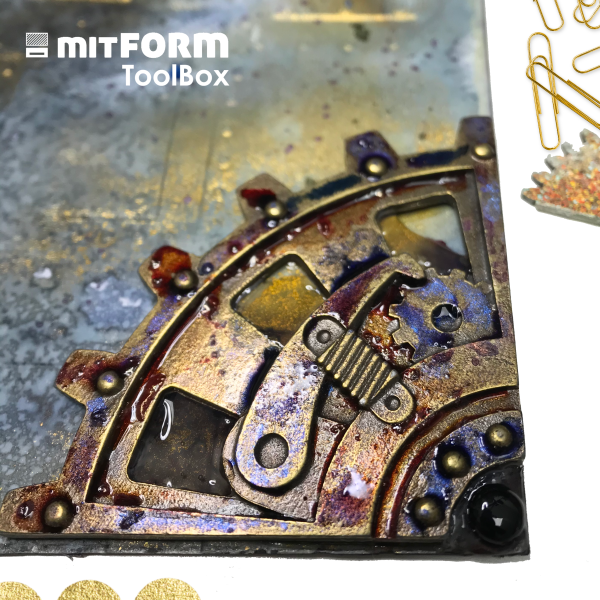 Coloring Mitform Metal castings
