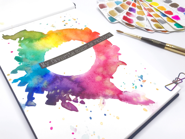 Prima Confections Watercolors Color Wheel