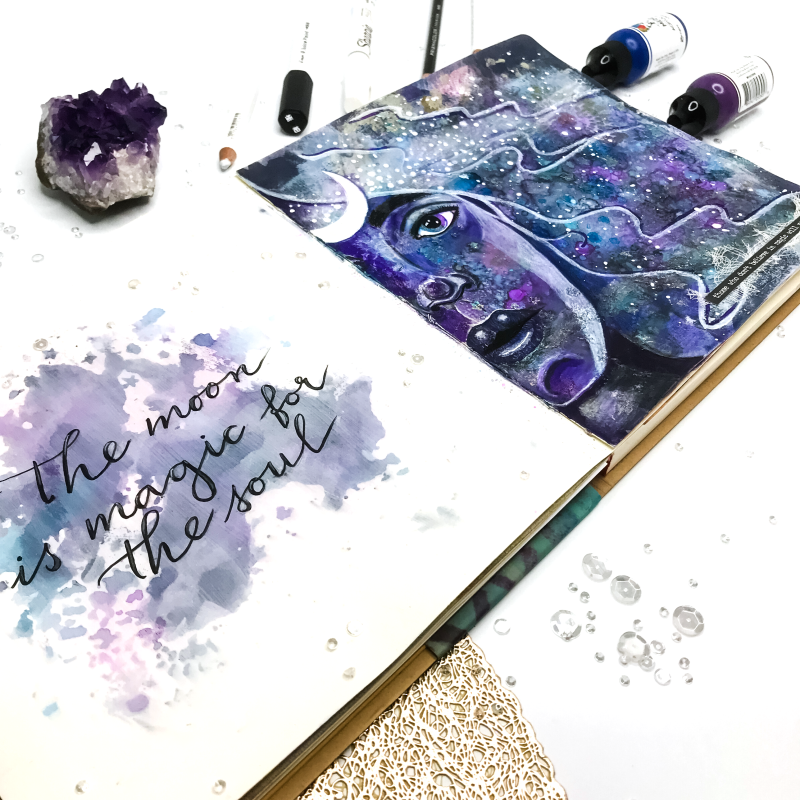 Moon Child art journal page_04746png