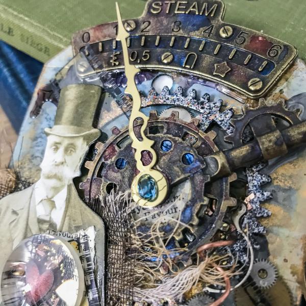 Steampunk Tag using Mitform Castings